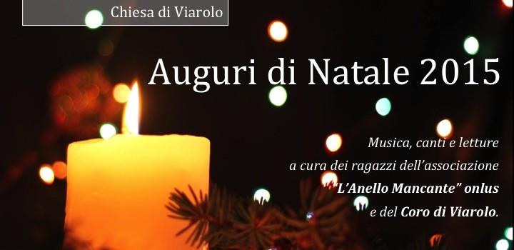 Concerto di Natale a Viarolo, sabato 19 dicembre 2015, ore 20,45