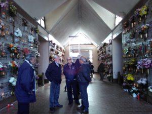 Cimitero di Viarolo - benedizione 1 novembre 2016